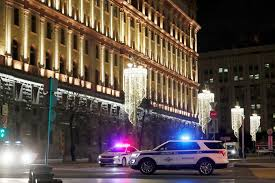 Image result for Moscow shooting: Several dead in attack near Russian security service HQ