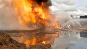 Fire at an oil well in the Irkutsk region - video - Teller Report