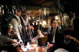 Tokyo bar uses 'fish bowl' screens to lure back virus-wary clients | World  | News | The Journal Pioneer