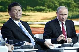 As Western ties fray, Putin and Xi are increasingly close